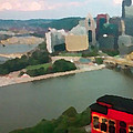 View Of Pittsburgh From Mt. Washington by George Pedro