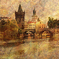 View Of Prague by Greg Matchick