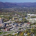 View Of Roanoke Va by Jennifer Lamanca Kaufman