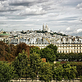 View Of Sacre Coeur From The Musee D'orsay by Belinda Greb