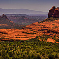 View Of Sedona From The East by David Patterson