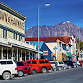 View Of Seward, Alaska Storefronts by Panoramic Images