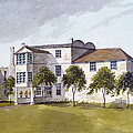 View Of Sir Noel De Carons House, 1809 Wc On Paper by English School