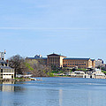 View Of The Art Museum And Waterworks In Philadelphia by Bill Cannon
