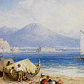 View Of The Bay Of Naples by Forest Myles Birket