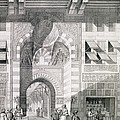 View Of The Door Of Okal Kaid-bey by Pascal Xavier Coste