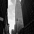 View Of The Empire State Building From West 34th Street And Broadway Junction New York City by Joe Fox