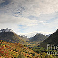 View Of The Glencoe Mountains by Deborah Benbrook
