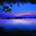 View Of The Night Lake by Randall Branham