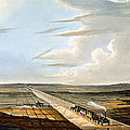 View Of The Railway Across Chat Moss by Thomas Talbot Bury