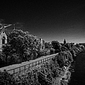 view of the river corrib looking back towards the kings gap Galway city county Galway Republic of Ireland by Joe Fox