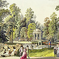View Of The Temple Of Diana At Erlaw by Laurenz Janscha