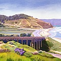 View Of Torrey Pines by Mary Helmreich