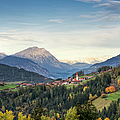 View Of Unterleins In Tyrol by Thomas Winz