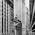 View Of Wall Street by Irving Underhill