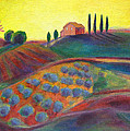 View On The Olive Grove by Robie Benve