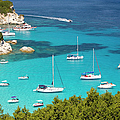 View Over Voutoumi Bay, Antipaxos by David C Tomlinson