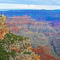 View Three From Walhalla Overlook On North Rim Of Grand Canyon-arizona  by Ruth Hager