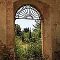 View Through The Monastery Window by Deborah Benbrook