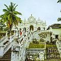 view to the Dodanduwa Temple by Gina Koch