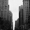 View Up 6th Ave Avenue Of The Americas From Herald Square In The Evening New York City Winter by Joe Fox