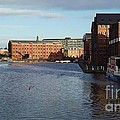 Views From Historic Gloucester Docks 2 by John Williams