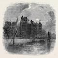 Views On The Embankment, London, 1870 by English School