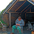 Viking Fisherman At L'anse Aux Meadows-nl  by Ruth Hager