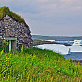 Viking House On Fishing  Point In Saint Anthony-nl by Ruth Hager