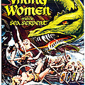 Viking Women And The Sea Serpent Poster by Gianfranco Weiss