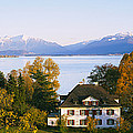 Villa At The Waterfront, Lake Zurich by Panoramic Images