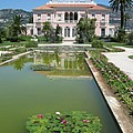 Villa Ephrussi De Rothschild With Reflection by Christiane Schulze Art And Photography