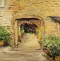 Villa In Italy by Kathy Knopp