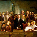 Village Choir by Thomas Webster