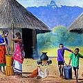 Village Chores by Jane Wanjeri