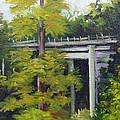 Village Creek Bridge by Barbara Haviland