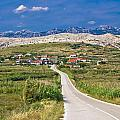 Village Gorica Island Of Pag by Brch Photography