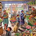 Village Greengrocer  by Steve Crisp