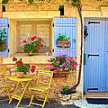 Village House In The Tiny Luberon by Barbara Van Zanten