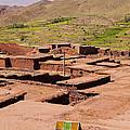 Village In Atlas Mountains In Morocco by Karol Kozlowski