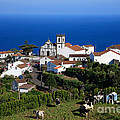 Village In Azores Islands by Gaspar Avila