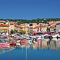 Village In Provence by Jean-pierre Lescourret