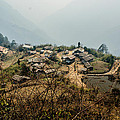 Village In Sikkim by Helix Games Photography