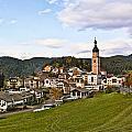 Village In The Dolomites by Betty Eich