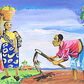 Village Life In Cameroon 01 by Emmanuel Baliyanga