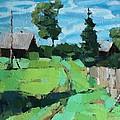 Village Meadow by Alena Kogan