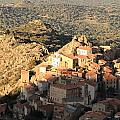 Village Of Speloncatu In Corsica by Jon Ingall