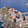 village of Vernazza by Ioan Panaite