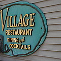 Village Restaurant by Christiane Schulze Art And Photography