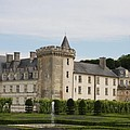 Villandry Chateau And Boxwood Garden by Christiane Schulze Art And Photography